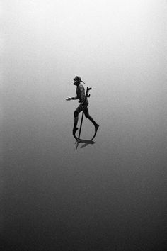 Black and White Underwater Photography