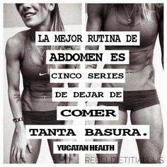Muy cierto! #fit4life #abs