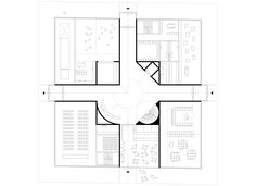 Parti Diagram, Gigon Guyer, Architecture Drawing Plan, Bauhaus, Plan Drawing, New Museum, Office Interiors, Master Class, Monument Valley