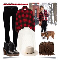 """""""My Winter Essentials"""" by alaria ❤ liked on Polyvore featuring J Brand, Étoile Isabel Marant, Rebecca Minkoff, MANGO, Steve Madden, contestentry and winteressentials"""