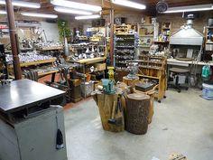 Jeffrey Herman Silversmith: Silversmithing Shop View #12