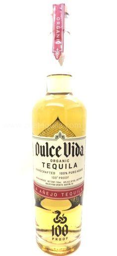 Dulce Vida organic Anejo tequila 100 proof - www.oldtowntequila.com