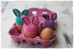 FREE PATTERN as at July 2015 You have to email for the pattern Crochet Egg Cozy, Easter Crochet, Free Crochet, Knit Crochet, Crochet Ideas, Craft Markets, Crochet Gifts, Bjd Dolls, Knit Patterns