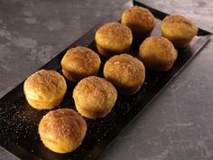 Get Cinnamon Sugar Mini Pancake Muffins Recipe from Cooking Channel
