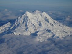 Mt. Rainier, I able to view the gorgeous mountain very day, if it's not raining...