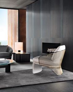 Colette armchair skillfully blends experimentation in the design of shapes with sophisticated decorative taste. Designed by Rodolfo Dordoni for Minotti, its fairly complex construction features an. Elegant Home Decor, Elegant Homes, Art Design, Interior Design, 2017 Design, Furniture Decor, Furniture Design, Period Living, Boutique Fashion