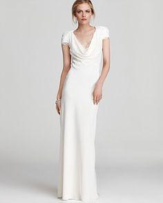 Cap Sleeve Wedding Dress Under $600