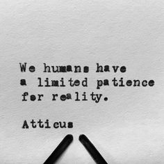 """From the book """"Love Her Wild: Poetry"""" by Atticus #atticuspoetry #atticus #poetry #loveherwild #reality @laurenholub"""