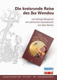 Plakat Lesung ... Kinderbuch Illustration, Cover, Books, Children's Books, Savings Bank, Poster, Travel, Livros, Illustrations