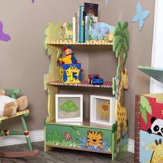 Find it at the Foundary - 38 in. Sunny Safari Bookcase