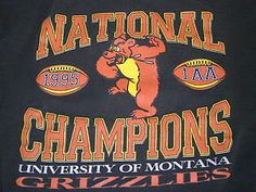 Montana Grizzlies - 1995 National Champions