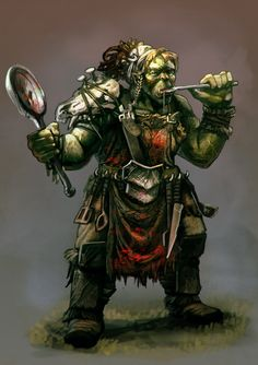 pathfinder orcs - Google Search