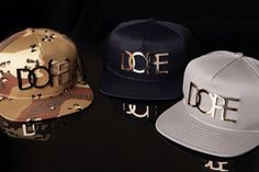 DOPE 24K Snapback Collection