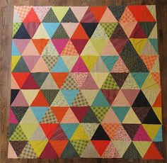 Pyramid Pals: Three quilts made with Denyse Schmidt's Chicopee fabrics - Google zoeken