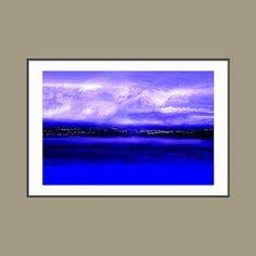 Landscape art Winter Light  giclee print of original by JohnTownes, $30.00