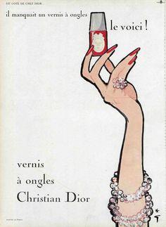 Vintage Dior Advert- ooh la la so classy