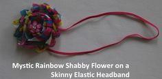 Mystic Rainbow on Elastic Headband