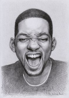 Will Smith by thedrawinghands on deviantART ~ pencil portrait