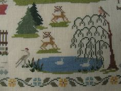 Willow Tree Stitcher: It only took me 5 years....Pride & Prejudice sampler finish! (photo heavy)