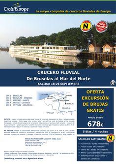 Crucero fluvial de Bruselas al Mar del Norte - oferta exc. Brujas GRATIS - salida 18 sept (5D/4N) ultimo minuto - http://zocotours.com/crucero-fluvial-de-bruselas-al-mar-del-norte-oferta-exc-brujas-gratis-salida-18-sept-5d4n-ultimo-minuto/