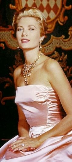 Princess Grace of Monaco (Grace Kelly). Born  1929 Died  1982.  She was the wife of Prince Rainer of Monaco.