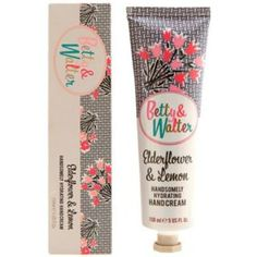 Betty and Walter Handsomly Hydrating Hand Cream Elderflower and Lemon, £6.  Follow the link to buy this or add it to a Christmas wish list on My List Is Here!