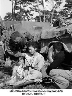 Kore Savaşı Fotoğrafları - Korean War Photos - Turk Askerleri - Turkish Army - Sağlıkla ilgili resimler - Health Service 18