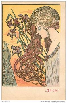 Stamps, coins and banknotes, postcards or any other collectable items are on Delcampe! Art Nouveau Mucha, Vintage Labels, Auction, Stamp, Fancy, Postcards, Animals, Caravan, Germany