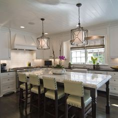 kitchen island lighting | Kitchen Island Lighting | House to Home