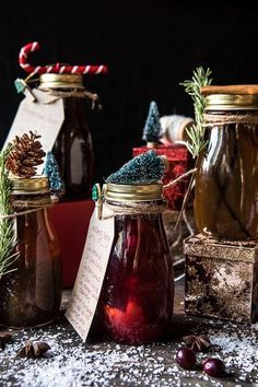 Holiday Gifting- Homemade Simple Syrups | halfbakedharvest.com @hbharvest