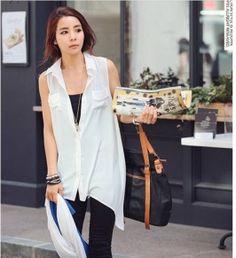 Long Blouses White Long Blouse, Blouses, Fancy, Blazer, Stylish, Jackets, Dresses, Women, Fashion