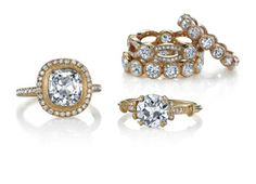 Rose Gold Diamond Engagement Rings by Single Stone