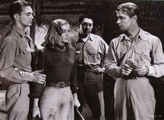 Vintage Photo Of A Scene Of Alan Ladd Veronica Lake And Wally