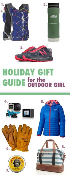 Gift ideas for the girl on your list that is an outdoor lover. barefootcolo.com