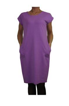 Sukienka Kolor Liliowy . w Henia u Heni na DaWanda.com