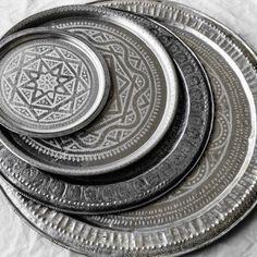 Zoco Home, Moroccan vintage trays