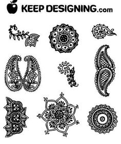 Pattern ideas. Found at  www.keepdesigning.com