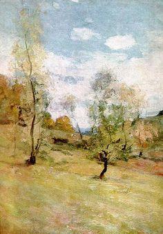 Nicolae Grigorescu - La Posada. Henry Darger, Green And Orange, Color Combos, Colours, Paintings, Artists, Colour Schemes, Paint, Painting Art