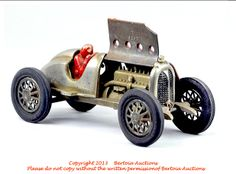 Old Antique Toys: Hubley Cast Iron Racer # 5