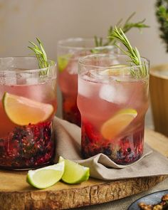 Norwegian Forest Cocktail - This cocktail is inspired by the Norwegian forest and the wonderful berries you can find there.