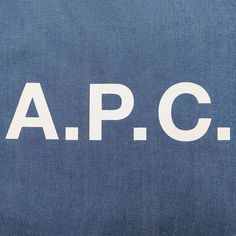 Special A.P.C. denim tote only available in Japan. #apc by apc_paris