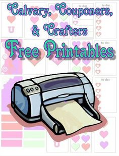 calvary couponers and crafters free printables