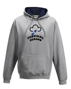 awesome FESTIVAL SEASON- Rain Weather Symbol, Funny Men's hoodie / hooded top From FatCuckoo