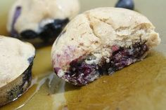 Blueberry Chocolate Chip Pancake Muffins