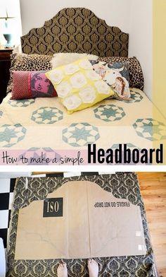 Fancy (Simple) Headboard