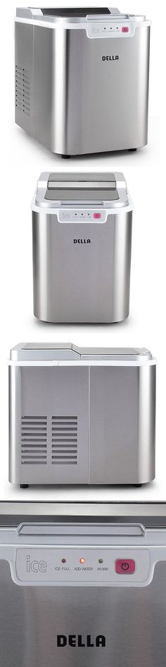 countertop ice makers portable stainless steel mini countertop ice cube maker 26 lb