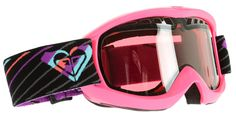 Roxy Broadway Snowboard Goggles Pink/Pink Lens - Women's