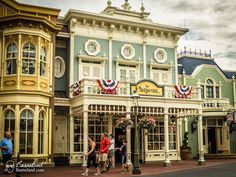 The Chapeau on Main Street USA