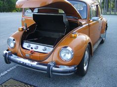 a tricked out 1974 Volkswagen Beetle that moonlights as a grill.