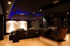 Home cinema... With gaming chair!